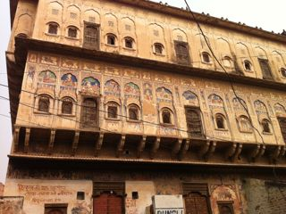 Mandawa painted house