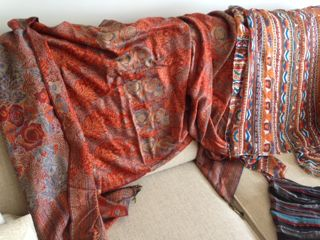 Pashmina and shawl