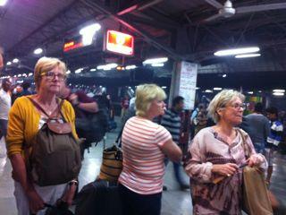 The metro in Delhi