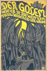 sursa imaginii https://en.wikipedia.org/wiki/Golem#/media/File:Golem_1920_Poster.jpg
