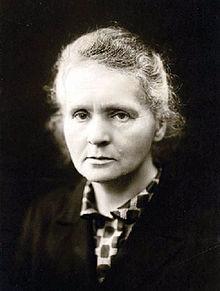 sursa imaginii https://en.wikipedia.org/wiki/Marie_Curie