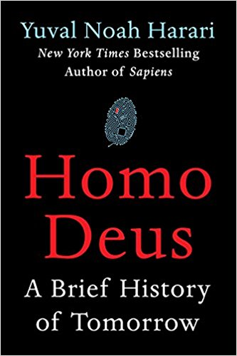 sursa imaginii https://www.amazon.com/Homo-Deus-Brief-History-Tomorrow/dp/0062464310/