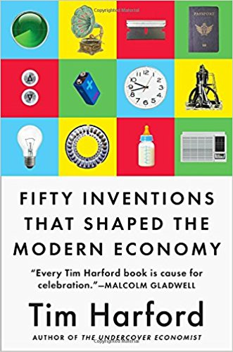 sursa imaginii https://www.amazon.com/Fifty-Inventions-Shaped-Modern-Economy/dp/0735216134/