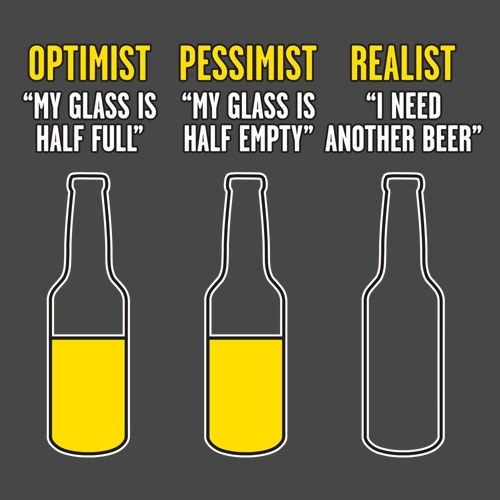 sursa imaginii http://www.feelingoodtees.com/Optimist-Pessimist-Realist-T-Shirt-P3664.aspx